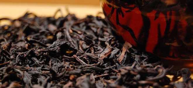 Чай Да Хун Пао или Большой красный халат