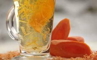 Чай из моркови — полезные свойства, как сделать в домашних условиях