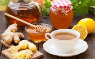 Как приготовить имбирный чай с медом