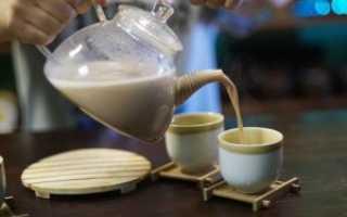 Молочный пуэр и рецепт пуэра на молоке