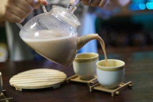 Пуэр на молоке