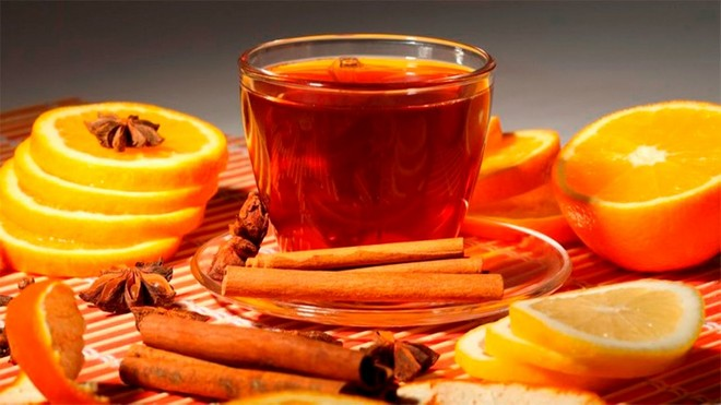 Чай Масала с апельсином
