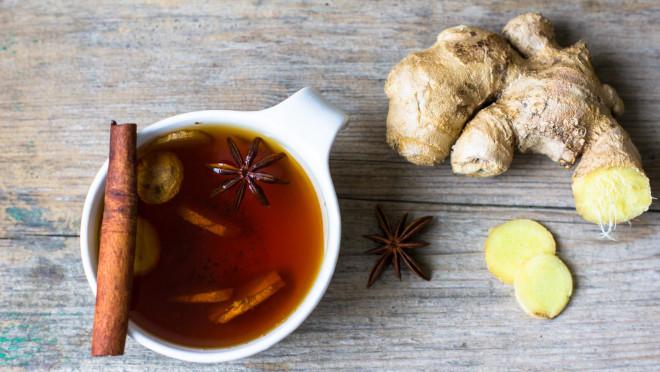 Самое лучшее сырье для приготовления имбирного чая – свежий корень