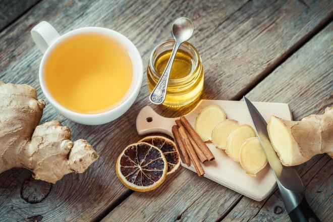 Классический имбирный чай нужно пить по 100 мл 3-5 раз в день