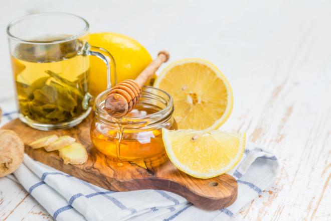 Чай с имбирем и медом от простуды помогает на начальной стадии