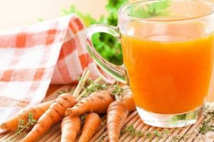 Заготовка и сушка морковного сырья для чая